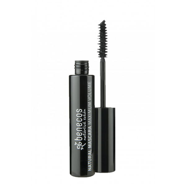 Ripsiväri Natural Mascara Maximum Volume Benecos