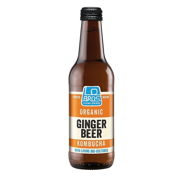 Kombucha ginger beer 330 ml Luomu FI-EKO-201